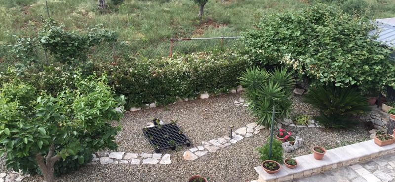 Giardino e muretti